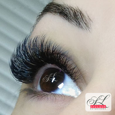 Lash Extensions volume photo